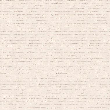 Duka Duka Dk.142391 Italik Yazı Desenli Bej Renkli Duvar Kağıdı 16 M2 Renkli